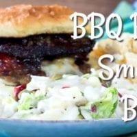 Thursday's Dinner: BBQ Bacon Smashed Burger