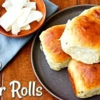 Side Dish Option: Potato Dinner Rolls