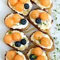 Friday's Dinner: Easy Bruschetta Recipe with Melon
