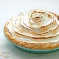 Dessert Option: Lemon Meringue Pie