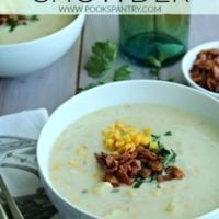 Wednesday's Dinner: Potato Corn Chowder with Bacon