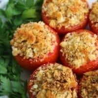 Monday's Dinner: Stuffed Tomatoes