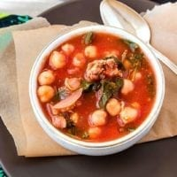 Tuesday's Dinner: Easy Italian Sausage Soup