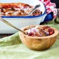 Dessert Option: Strawberry Peach Sonker