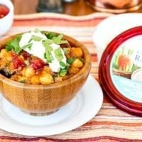 Tuesday's Dinner: Easy Spicy Vegan Chickpea Chili