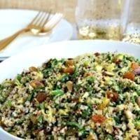 Monday's Dinner: Mediterranean Quinoa Salad