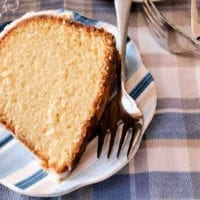 Dessert Recipe #1: Whipping Cream Pound Cake