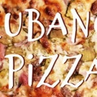 Friday's Dinner:The Cubano Pizza