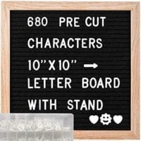 ABELL Felt Letter Board