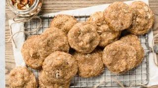 Maple Brown Sugar Pecan Cookies