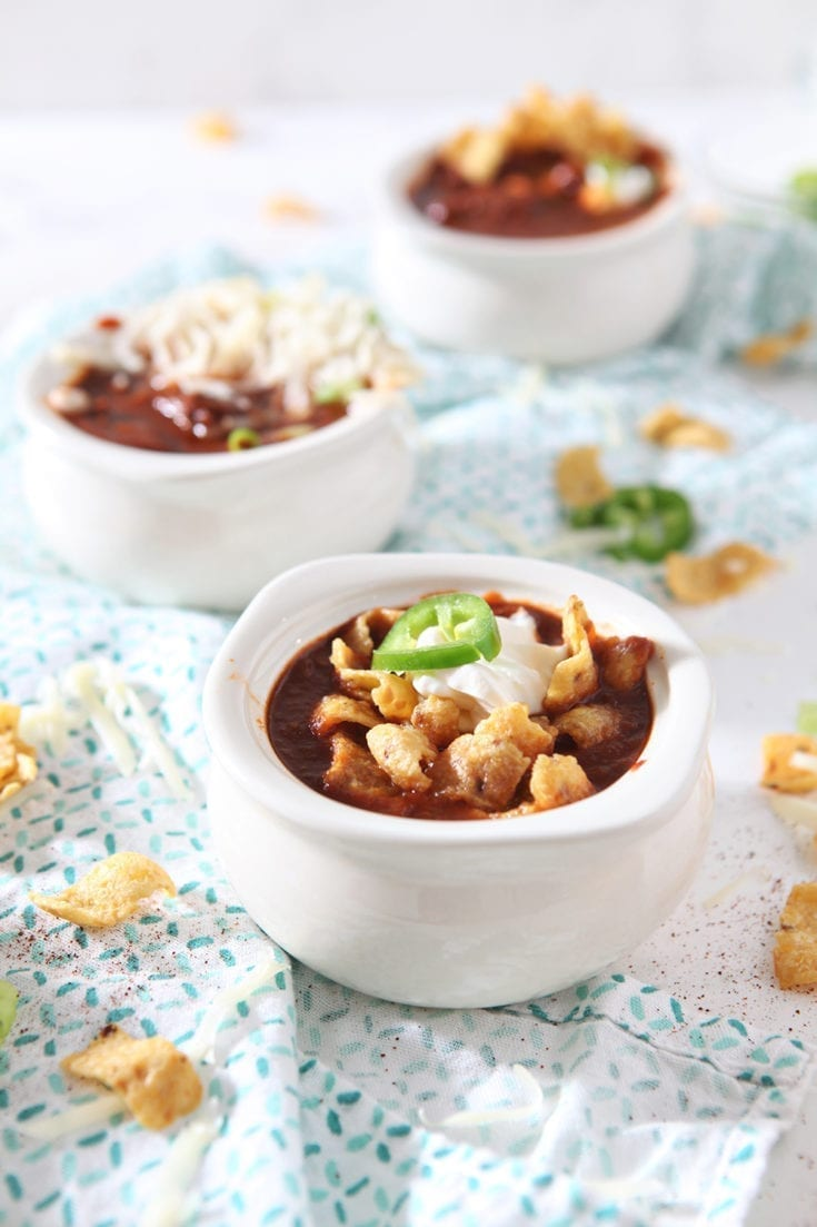 Homemade Texas Chili Recipe The Speckled Palate