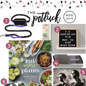 Square Collage of The Speckled Palate's Potluck for August 2019
