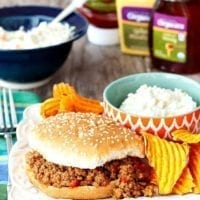 Thursday's Dinner: Easy Sloppy Joes