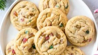 Fruitcake Cookies (Dairy Free)