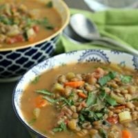 Wednesday's Dinner: Easy Lentil Soup