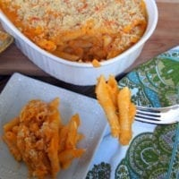 Thursday's Dinner: Butternut Squash Mac and Cheese
