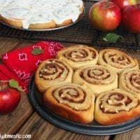 Breakfast Option: Apple Cinnamon Rolls