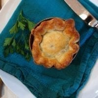 Monday's Dinner: Ratatouille Hand Pies and Pot Pie
