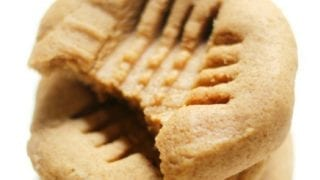 3-Ingredient Old-Fashioned Peanut Butter Cookies