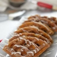 Breakfast Idea: Pumpkin Churro Waffles