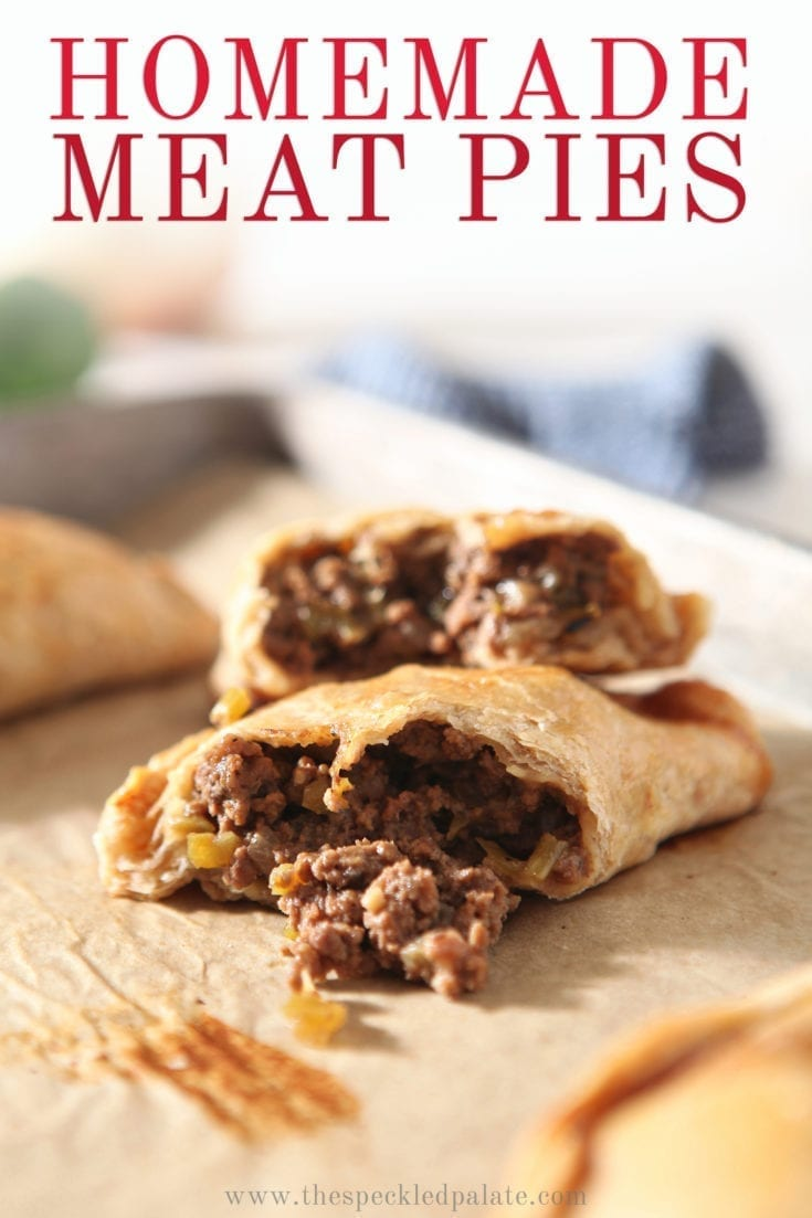 Natchitoches Meat Pies are traditional savory Louisiana hand pies. Learn how to make this handheld meat pie recipe with a flavorful @panoramameats beef filling and a flaky pastry. They're perfect for sharing! #easyentertaining #speckledpalate #ad