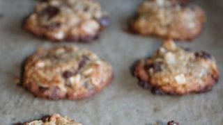 Coconut Chocolate Chip Cookies Gluten Free
