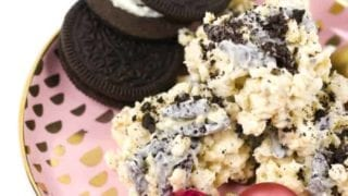 No-Bake Cookies and Cream Avalanche Cookies