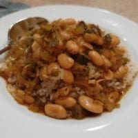 Monday's Dinner: Vegan Creole White Beans