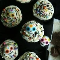 Dessert #1: Day of The Dead Cupcakes