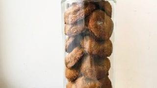 Cashew Butter Ginger Cookies