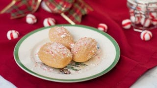 Peppermint Madeleines