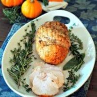 Thursday's Dinner:Citrus-Herb Roasted Turkey