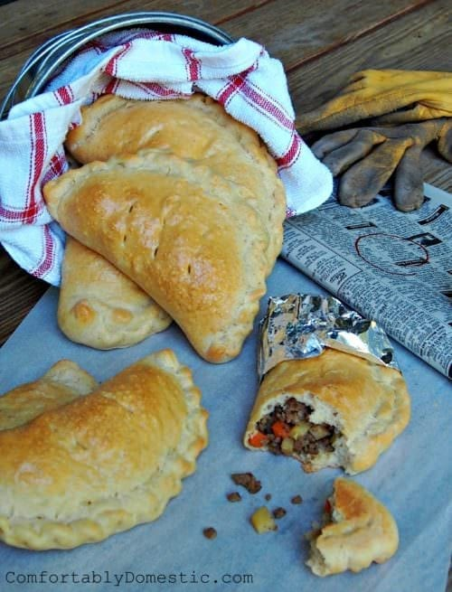 Wednesday's Dinner: Lower Peninsula Pasty