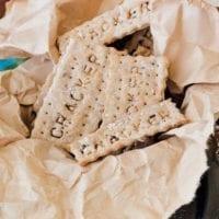 Appetizer Recipe: Spent Grain Crackers