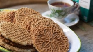 Anise Flavored Gluten Free Pizzelles