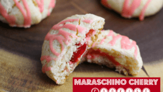 Maraschino Cherry Cookies