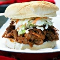 Tuesday's Dinner:Slow Cooker BBQ Pulled Pork