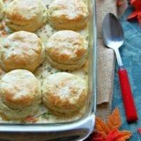 Tuesday's Dinner:Turkey Biscuit Casserole