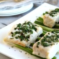 Thursday's Dinner:Corvina with Butter and Herbs