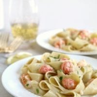 Monday's Dinner: Langostino Pasta for Two