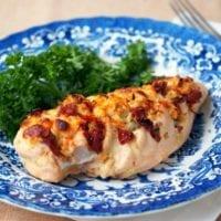 Monday's Dinner: Hasselback Stuffed Chicken
