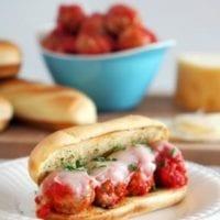 Tuesday's Dinner:Meatball Hoagie Sandwiches
