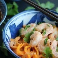 Tuesday's Dinner:Thai Curry Shrimp with Coconut Milk