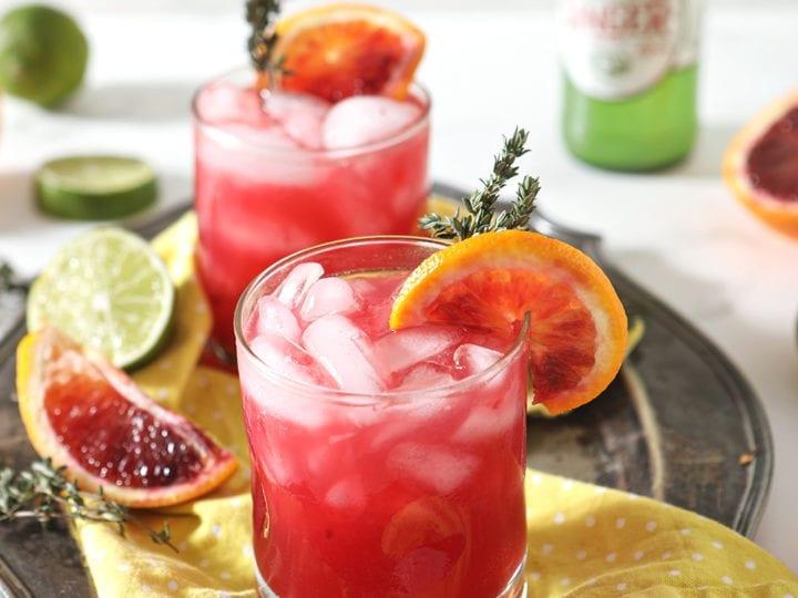 Blood Orange Mocktail Mule