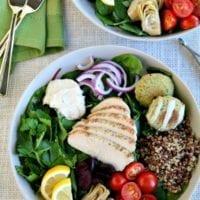 Friday's Dinner:Mediterranean Bowls