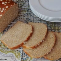 Bread Idea: Honey Oatmeal Bread