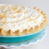 Dessert Idea:Allergy Friendly Coconut Cream Pie