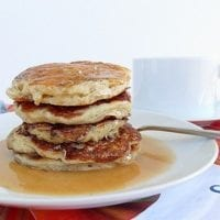 Tuesday's Dinner: Vegan Vanilla Chai Pancakes