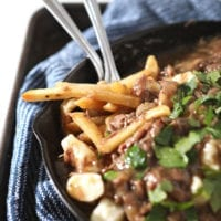 Friday's Dinner: Beef Poutine Fries and Gravy