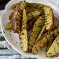 Seasoned Grilled Potato Wedges